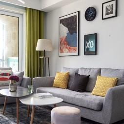 简爱简约客厅沙发背景墙设计