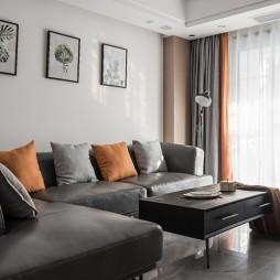 小资现代风卧室装饰画图