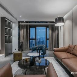 150㎡ | 现代简约客厅沙发图