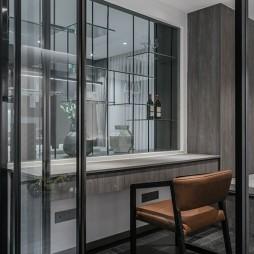 150㎡ | 现代简约书房书桌设计