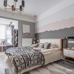 文艺北欧风卧室设计