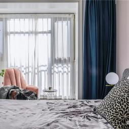 个性现代卧室实景图片