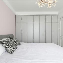 个性现代卧室衣柜设计实景图片