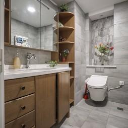 个性现代卫浴设计实景