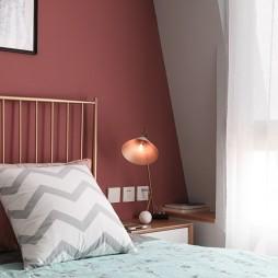旧房改造混搭风卧室床头灯图