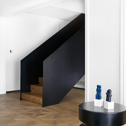 中西美宅楼梯设计