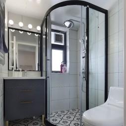 小复式北欧风卫浴设计