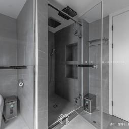 139㎡二居极简现代淋浴间设计
