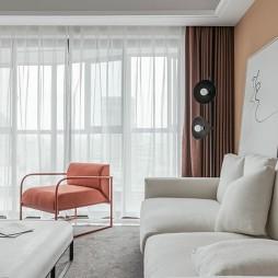 NARTURE现代风客厅沙发图