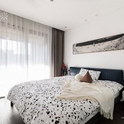 140㎡优雅中式主卧室设计