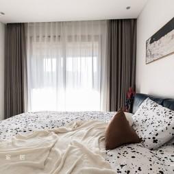 140㎡优雅中式卧室设计图