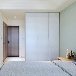 简单现代风主卧衣柜设计