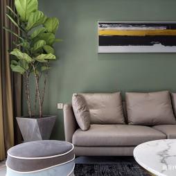 独墅湾现代风客厅沙发图