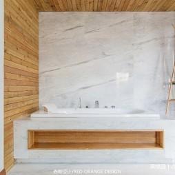 现代别墅卫浴设计图片