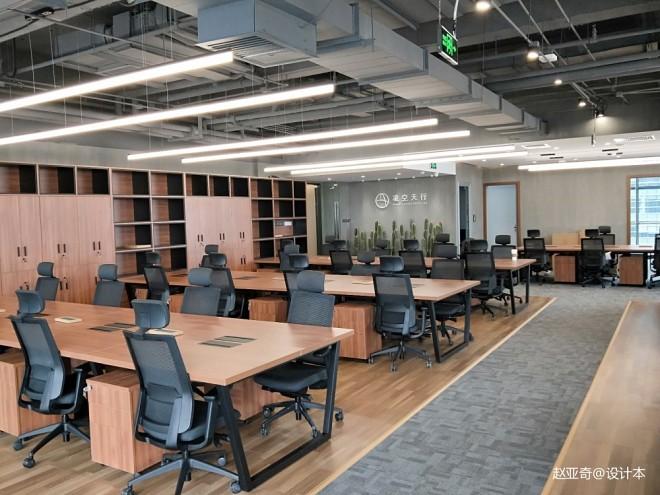 北京凌空天行科技办公室室内设计_35