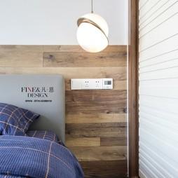 金色阳光现代风卧室吊灯图片