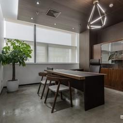 创意办公空间总经理室设计