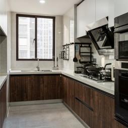现代风厨房实景图片