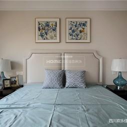 简单美式卧室设计