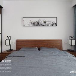 中式现代次卧室实景图片