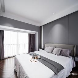 简约 • 灰有度主卧室设计图
