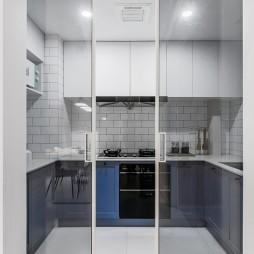 『Slowly』简约风厨房设计图