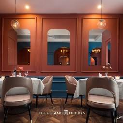 苏格出品•五月罗马西餐厅内部设计图片