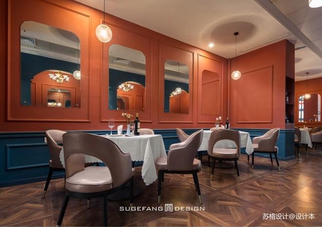 苏格出品•五月罗马西餐厅内部设计