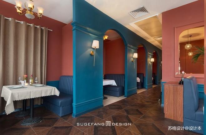 苏格出品•五月罗马西餐厅隔断设计