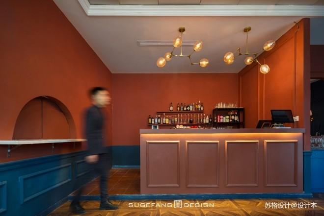 苏格出品•五月罗马西餐厅吧台设计