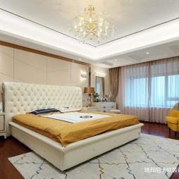 轻奢现代卧室设计图