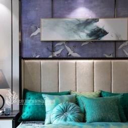简约新中式卧室设计图