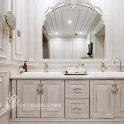 法式风格别墅洗手台设计图