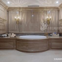 法式风格别墅卫浴设计图