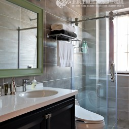 温情美式风卫浴设计