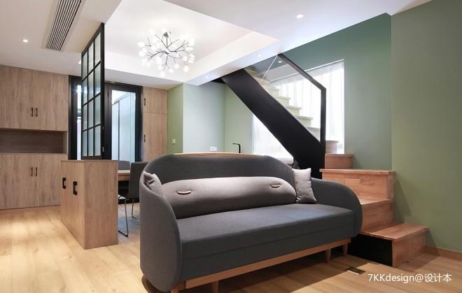 55㎡小户型客厅沙发图片