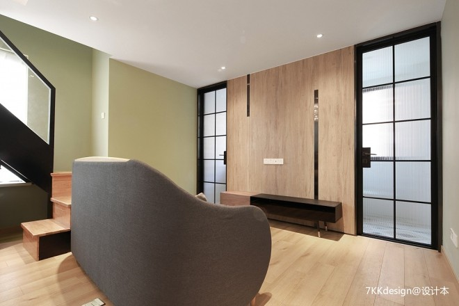 55㎡小户型客厅设计图片