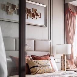 F户型样板房卧室设计