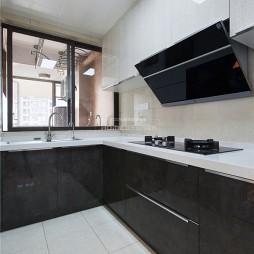轻奢三居室厨房设计