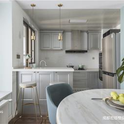 美式厨房吧台设计