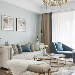 美式客厅沙发图