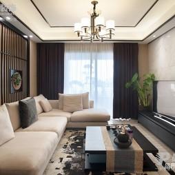 东方新中式客厅吊灯图