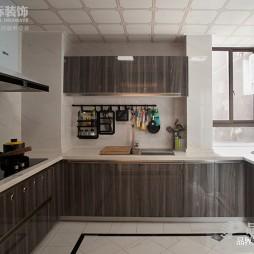 东方新中式厨房设计图
