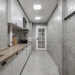 清新美式厨房设计图