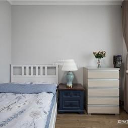 清新美式客卧设计图