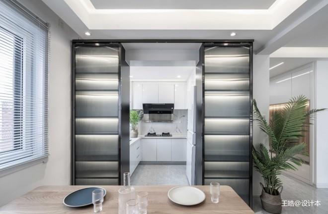 现代风样板房厨房设计
