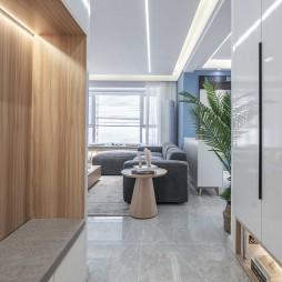 现代风样板房玄关设计