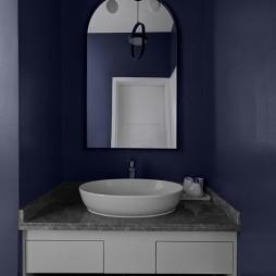 宜家风卫浴洗手台设计图