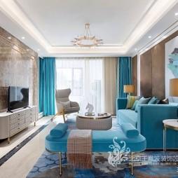 现代简约风客厅沙发图片
