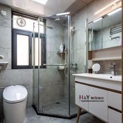精简致北欧风卫浴设计